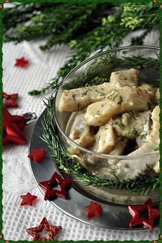 Śledzie w musztardowym sosie Food L, Polish Recipes, Appetisers, Fish Dishes, Food Hacks, Holiday Recipes, Christmas Recipes, Appetizer Recipes, Food To Make