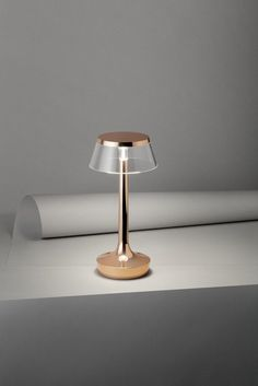 LED desk lamp with rechargeable battery BON JOUR UNPLUGGED by FLOS