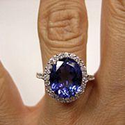Safire and Diamonds..........Ruby Lane