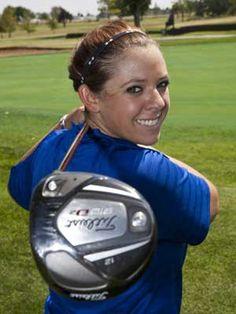 Golf...I know it's a girl but i like the angle