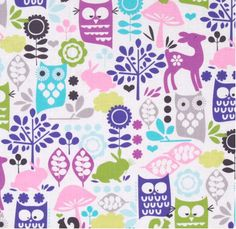 Such a fun, quirky fabric which the children will love in their bedrooms for something different. $29.99/m
