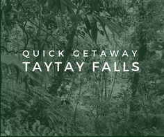 of A Quick Getaway under 500 Pesos (Taytay Falls) Adventure, Adventure Nursery