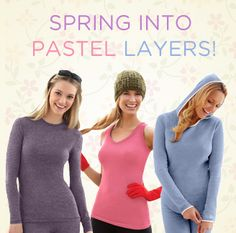 Spring into Pastel Layers! #CuddlDuds