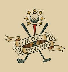 golf tattoo design - Google Search