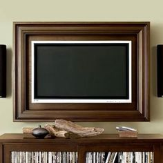 DIY TV Frame: Disguise that Flat Screen | Tv frames, Diy tv and ...
