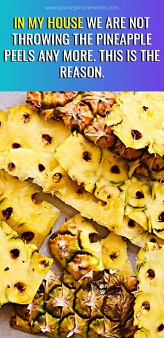 In My House We Are Not Throwing The Pineapple Peels Any More. This Is The Reason… Herbal Cure, Herbal Remedies, Health Remedies, Arthritis Remedies, Natural Teething Remedies, Natural Home Remedies, Health Tips, Health And Wellness, Health Care