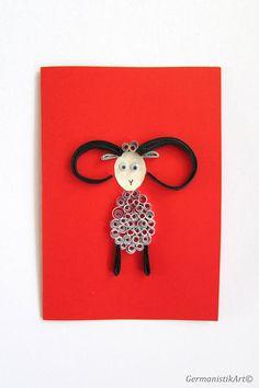 Aries Quilling Card, Ram Greeting Card, Zodiac Birthday Card, Zodiac sign card, Zodiac Art Card, Blank Birthday Card, Astrology Card Quilling Birthday Cards, 40th Birthday Cards, Quilling Cards, Zodiac Art, Aries Zodiac, Butterfly Cards, Flower Cards, Ram Card, Aries Birthday