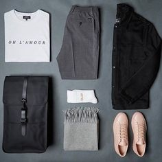 Grid by: @end_clothing  ______________  @thenortherngent for more outfits. #SHARPGRIDS to be featured. TheNorthernGent.com for fashion updates. ______________