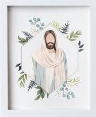 Jesus Christ Drawing, Jesus Christ Lds, Jesus Drawings, Jesus Art, Savior, Watercolor Paintings Abstract, Watercolor Portraits, Watercolor Print, Watercolor Trees