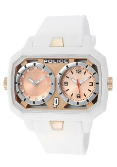 Price:$109.00 #watches Police 13076JPWH-32, This Police timepiece is uniquely known for it's classy and sporty look. It's accentuated design has made it one of the best sellers year after year.