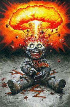 Zombie Adam Bomb by Nat Jones