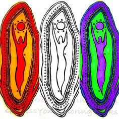 GoddessYoni Coloring Books Vol 2 & 3