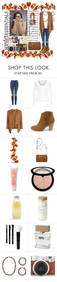 """""""Fall style 2015"""" by jojois543 ❤ liked on Polyvore featuring River Island, Report, New Directions, Jura, Lancôme, Sephora Collection, Bormioli Rocco, Bobbi Brown Cosmetics, Bella Freud and Chloe + Isabel"""
