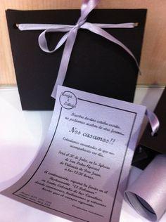 Invitaciones personalizadas de Aída G. Hulton en www.noviachic.es