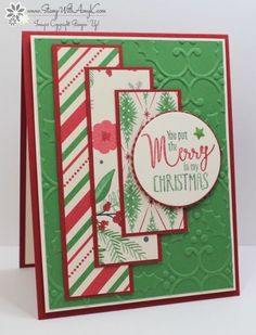 Stampin' Up! My Hero Christmas Card (Stamp With Amy K)