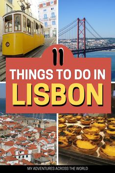 Space Guide Heading to Lisbon, Portugal soon? Check out these 11 cool things to do in Lisbon. A guide to the best things to do in Lisbon a Lisbon guide with tons of Lisbon travel tips for a trip you won't forget! Visit Portugal, Spain And Portugal, Portugal Travel, Lisbon Portugal, Spain Travel, Portugal Trip, Europe Destinations, Europe Travel Tips, European Travel