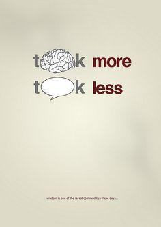 Think more, talk less #INTJ
