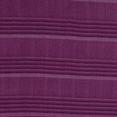 Carolina Herrera never fails to delight, and this lightweight Italian silk fabric is no exception. Stripes are rendered in lightly textured patterns, alternating between soft channels and a woven honeycomb-like design. Plum and sheer, it is beyond ideal for inspired evening wear like cocktail dresses or gowns.