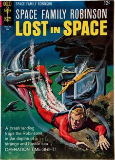 GEORGE WILSON - Space Family Robinson #22 - June 1967 Gold Key Comics