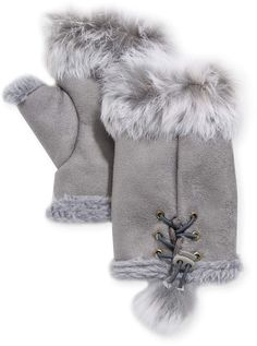 Open-Minded 2018 New Fashion Winter Children Gloves Genuine 100% Real Mink Fur Glove Knitted Mittens Thick Warm Fox Fur Cute Glove For Kids A Complete Range Of Specifications Apparel Accessories