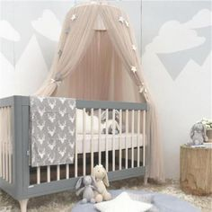 Baby Bedding Crib Netting Baby Crib Netting Princess Dome Bed Canopy Childrens Bedding Round Lace Mosquito Net For Baby Sleeping 6 Colors The Latest Fashion
