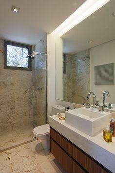 banheiro rasgo led