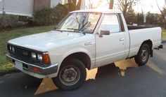 1985 Nissan pickup. My first new car.
