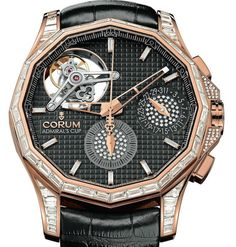Corum tackles a complex equation in its new Corum Admiral's cup Seafender 47 Tourbillon Chronograph. Its tourbillon is powered by an . Elegant Watches, Beautiful Watches, Awesome Watches, Nice Watches, Corum Watches, Rolex Watches, Sport Watches, Watches For Men, Gents Wear