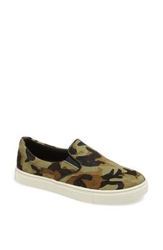 Steve Madden 'Ecentric' Pony Hair Flat available at #Nordstrom