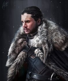 John Snow, Fanart, King In The North, Game Of Thrones Art, Cersei Lannister, Favorite Tv Shows, Cute Boys, Movie Tv, Tv Series