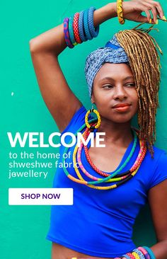 Nomi Handmade - The Home of Shweshwe Jewellry Fabric Jewelry, Ready To Wear, Crochet Necklace, Crochet Hats, Cotton, How To Wear, Handmade, Party Ideas, Jewellery