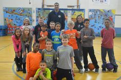 Landon Lucas stopped by the Boys & Girls Club of Woodlawn on Wednesday to hang out with Woodlawn's basketball team!