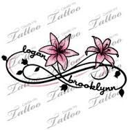 children's names tattoos for women - Google-Suche