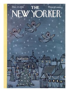 Dec. 27, 1958....cover of the New Yorker Magazine. William Steig.