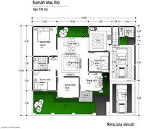 desain rumah tipe 110 1 lantai 2
