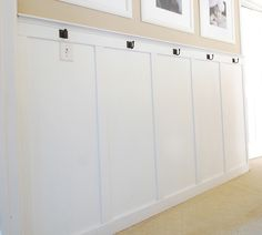 def need hooks for towels/bags in mud room or lower level outdoor shower area?