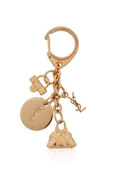 Yves Saint Laurent Charm Key Chain