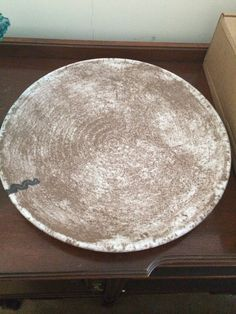 McCarty pottery Platter nutmeg with river mark. & mccarty pottery | McCarty dinner plate | I have a thing for pottery ...