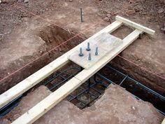 Wash -N- Dry Corner Column Anchor Bolts. Framing Construction, New Home Construction, Civil Engineering Construction, Building Foundation, Concrete Footings, Steel Columns, Concrete Projects, Steel House, Building A New Home