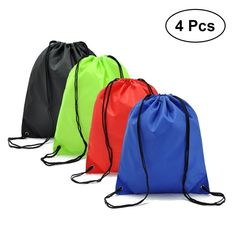 6d29d72d3328 New Gym Storage Bag Nylon Sports Drawstring Belt Riding Backpack Shoes  Container Bag Clothes Organizer Waterproof