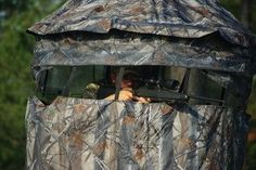 The Chameleon Hunting Blind Big Game Hunting, Hunting Tips, Bow Hunting, Hunting Stuff, Deer Hunting Blinds, Deer Blinds, Hunting Stands, Camping Aesthetic, Tent Camping