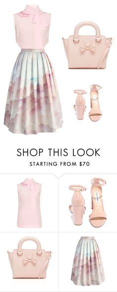 """Regional convention 2016 ideas"" by laritzasantana on Polyvore featuring Rochas, Steve Madden, Ted Baker and Chicwish"