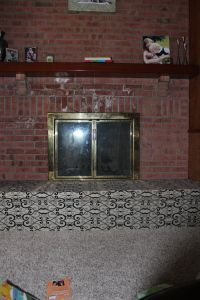DIY Childproofing a fireplace hearth into a upholstered bench Childproof Fireplace, Fireplace Hearth, Life Organization, Organizing Life, Childproofing, Home Reno, Baby Love, Home Projects, Interior Decorating