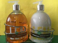 Bath & Body Works Lemon Vanilla Large Pump Hand Lotion & Soap with Caddy