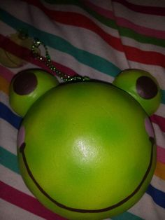 Frogs are my fav so happy i finally got my hands on a green tea frog 💛