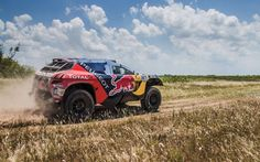 Rally Dakar 2016 Peugeot DKR16 Red Bull 2