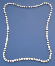 Isabella II, Queen of Spain single-row natural pearl necklace, circa 1850