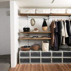 Provencal decoration: decorate your home with this style - Home Fashion Trend Muji Haus, Organizar Closet, Ideas Hogar, Japanese Interior, Closet Bedroom, Bedroom Inspo, Minimalist Decor, Minimalist Scandinavian, Minimalist Living