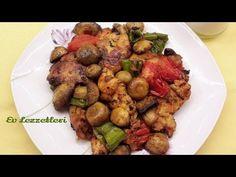 Fırında mantarlı tavuk tarifi - Kolay ve lezzetli tavuk yemeği- Ev Lezzetleri - YouTube