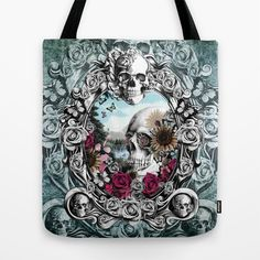 In the mirror.  Tote Bag by Kristy Patterson Design - $22.00